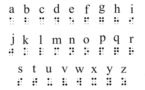 alphabet braille